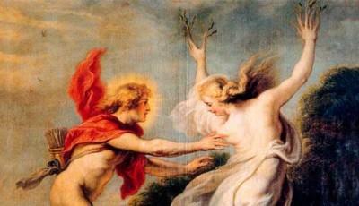 Apolo y la ninfa Dafne