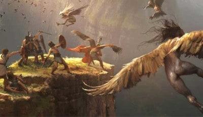 Los Argonautas y Las Harpías