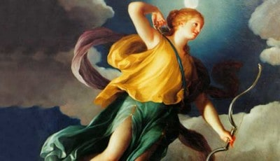 La diosa Artemisa o Diana