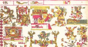 Codex Borgia, Cihuatlampa hemisferio oeste poniente