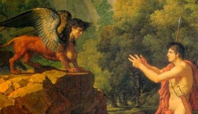 La Esfinge y Edipo