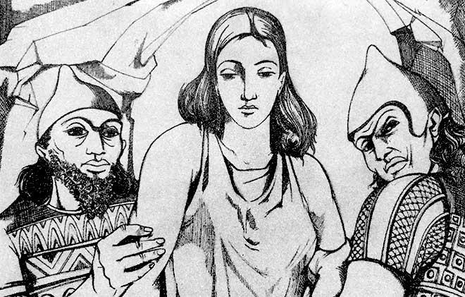 Ishtar en el mundo de los muertos
