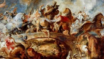 La batalla de las Amazonas de Rubens