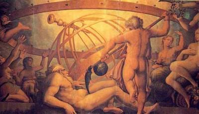 Mutilación de Urano por Cronos